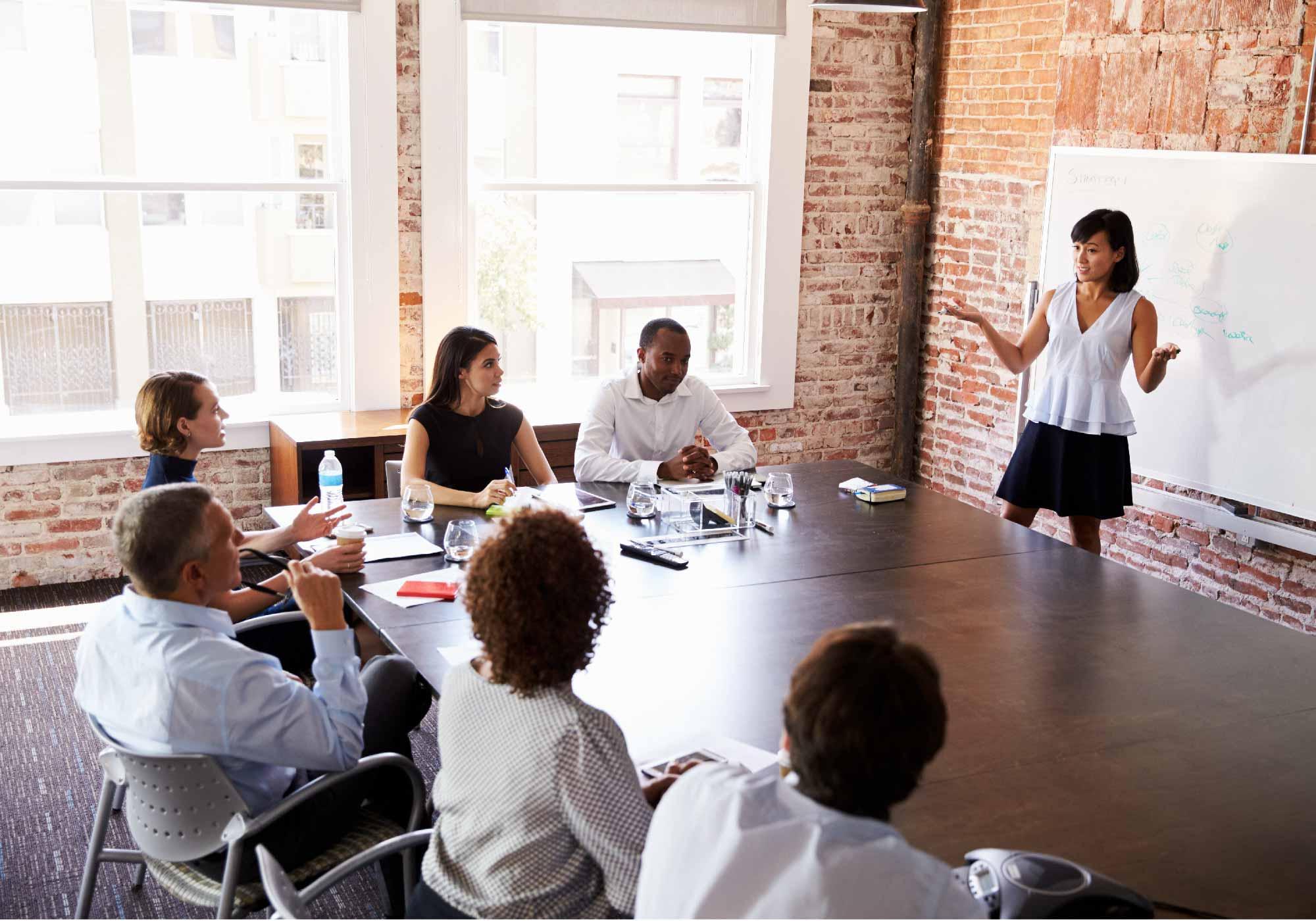 Delivering professional presentations