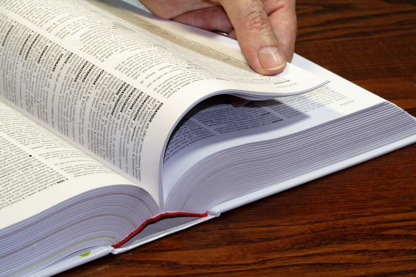 A glossary of legal terms